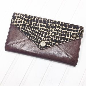 Rebecca Minkoff | Leather & Calf-hair Wallet